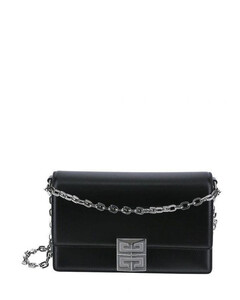 small 4g bag in box leather with chain