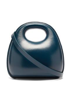 Egg medium leather bag