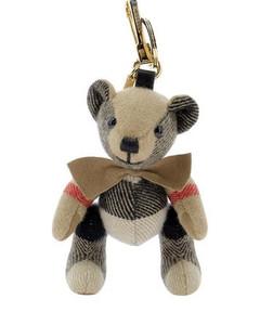 Bow-Tie Thomas Bear Bag Charm