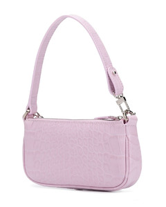 Croco Embossed Mini Rachel Bag