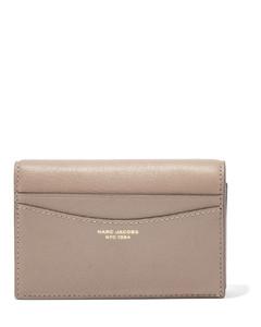 Kira Chevron Small Camera Bag in Gray Heron Leather