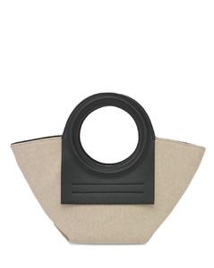 Cala Mini Canvas Top Handle Bag