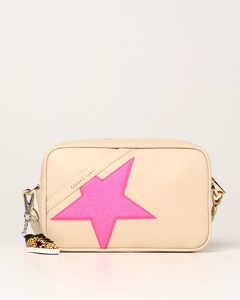 Star bag in textured leather
