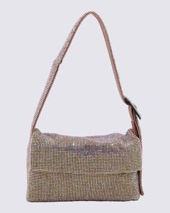 Hana Mini Bag in Motty Grey Leather