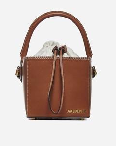 Le Seau Carre' leather bag