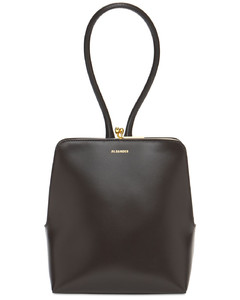 Goji Frame Small Square Top Handle Bag