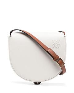 Heel Duo Leather Shoulder Bag