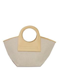 Cala S Heavy Canvas Top Handle Bag