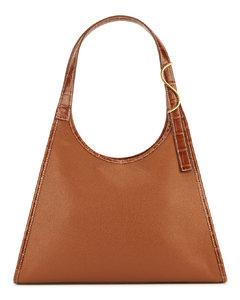 Rey brown leather shoulder bag