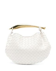 Women's Elissa Small Shoulder Flap Bag - Black/Gold