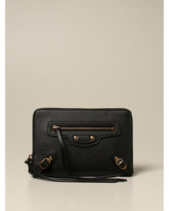 Neo Cl pouch bag in textured leather