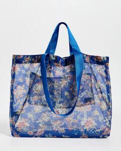 Cognac brown Standing tote bag