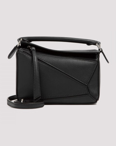 crossbody bag in saffiano leather with logo