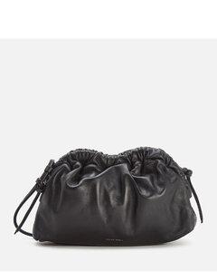 Women's Mini Cloud Clutch Cross Body Bag - Black