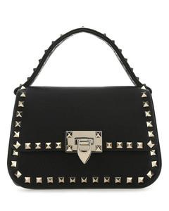 Pixel gold-tone chainmail shoulder bag