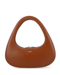 WOMEN'S 1BH082NOM2BBEF0002 BLACK OTHER MATERIALS SHOULDER BAG