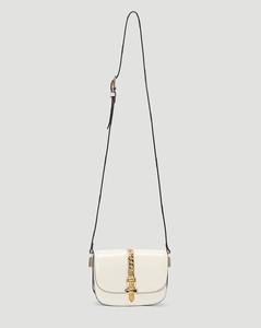 Sylvie 1969 Mini Shoulder Bag in White