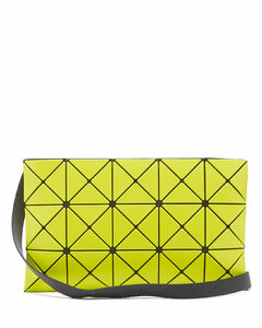 Lucent PVC cross-body bag
