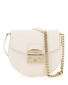 crossbody bag in smooth leather