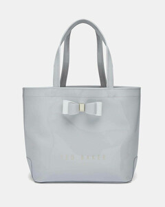 Women's Haricon Bow Small Icon Tote Bag - Grey