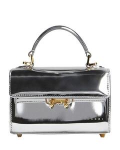 Women's Mini Croc Bag - Dark Brown