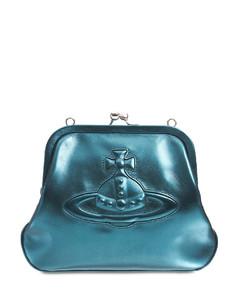Chelsea Vivienne's Metallic Leather Bag