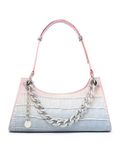 Croc froggy with crystals bag