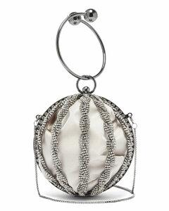 Tresse Boule crystal-embellished bag