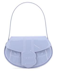 Multicolor leather nano Trunk crossboby bag