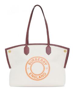 Logo Cotton Tote Bag