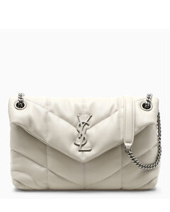 Cream small Loulou Puffer bag