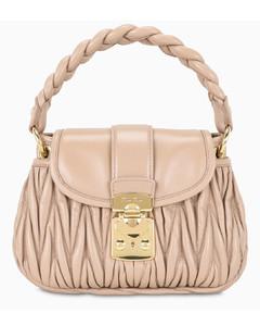 Pink Miu Coffer handbag