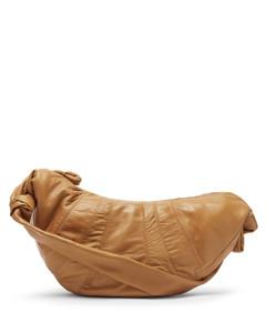 Croissant large leather bag