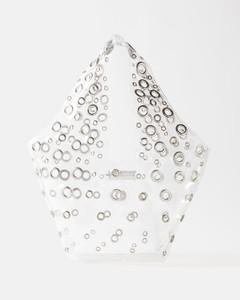 K Stripe wallet clutch