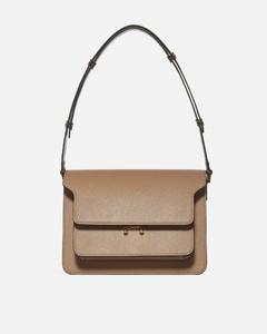 Trunk medium leather bag