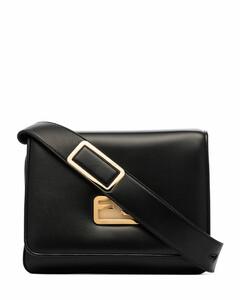 Id leather crossbody bag