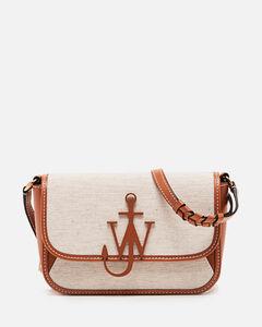 Anchor midi woven bag