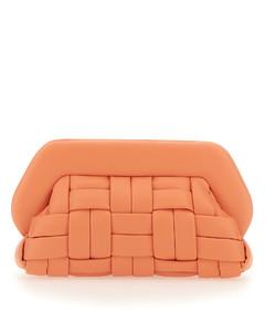 Women's Cloud Clutch Bag - Black/Flamma