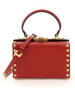 Garavani Rockstud Alcove Top-Handle Bag