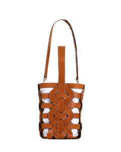 Leather Link Tote