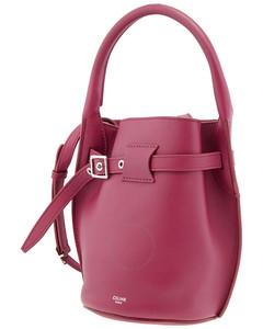 Smooth Calfskin Big Nano Bucket Bag