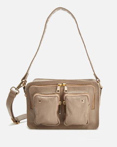 's Ellie Deluxe Shoulder Bag - Taupe