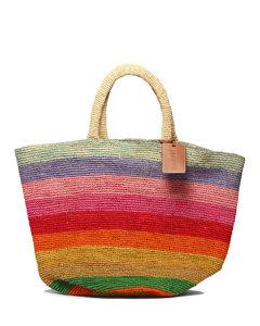 Lion trunk leather clutch bag