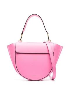 Mon Tresor FF logo leather mini bucket bag