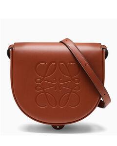 Brown Heel small cross-body bag