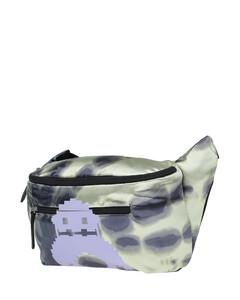 Plexiglass Four-Ring Skull clutch