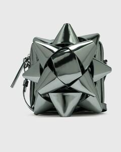 Metallic Gift Bow Crossbody Bag
