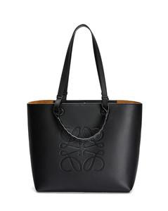 Anagram tote bag in classic calfskin