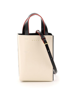 Tote Bags Marni for Women Soft Beige Apricot Black