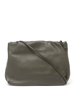 Bourse small leather clutch bag